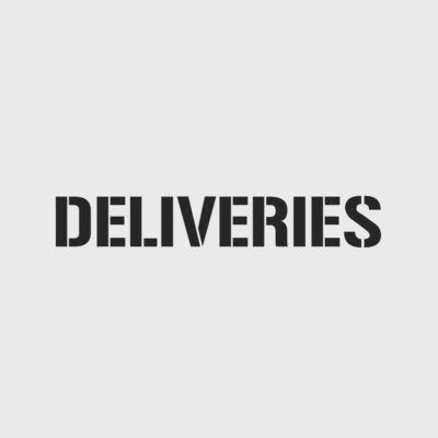 Deliveries Stencil