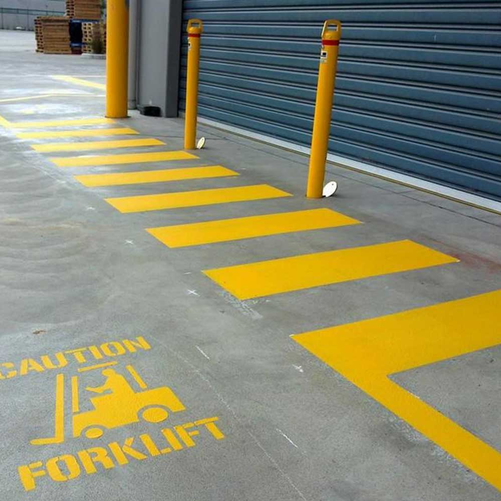 Warehouse and Safety Line Marking Stencils
