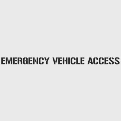 Emergency Vehicle Access